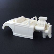 Jimmy Flintstone HO '32 Ford HI Boy Resin Slot Car Body - Fits 4 Gear  #40