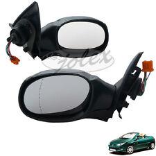 Außenspiegel Spiegel elektrisch rechts+links SET SATZ PAAR Peugeot 206cc 206 CC