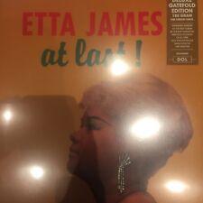 ETTA JAMES - AT LAST ! 2017 DELUXE GATEFOLD EDITION 180 G VINYL LP PRESSING -NEW