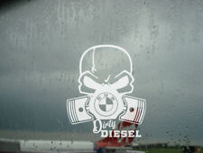 DIRTY DIESEL funny BMW Car adhesive Vinyl STICKERS Decals Window Bumper