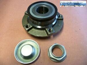1x Wheel Bearing Kit + Hub + ABS Sensor Rear Axle both Sides Peugeot 607