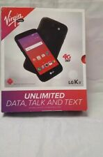 LG K3 4G LTE Android Smart Phone  Virgin Mobile Prepaid -- Brand New Sealed