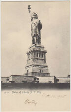 STATUE OF LIBERTY BUILT ON FORT WOOD, BEDLOES ISLAND, BY ROTOGRAPH OF NYC