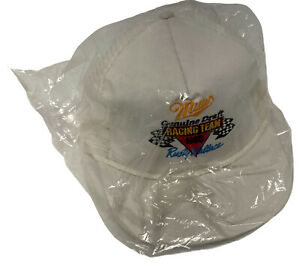 Rusty Wallace Nascar Miller Genuine Draft Racing Team Vintage Snapback Hat USA