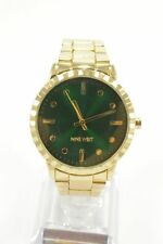 Nine West NW2312GNGP Green Dial Gold Tone Bracelet Ladies Watch
