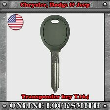 New Uncut Replaceme Transponder Key For Chrysler, Jeep & Dodge Y164 Top Quality