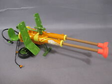 "TMNT 1989 ""DOUBLE BARRELED PLUNGER GUN"" Complete Teenage Mutant Ninja Turtles"