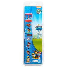 Ufficiale PAW PATROL LCD PERSONAGGIO DIVERTENTE Orologio Digitale Kids Nickelodeon REGALO