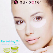 40 NU-PORE REVITALIZING ANTI-WRINKLE EYE GEL PATCHES STRIPS - 20 treatments NEW