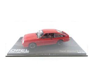 Eaglemoss 1:43 Opel CollectionOpel Manta B CC 1978-1982 #3887