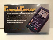 Teach Timer Stokes Classroom Time Management Great For SAT Chronograph Clock 229