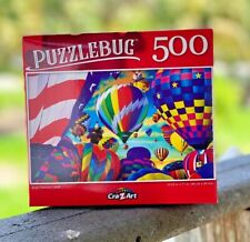 NEW Bright Hot Air Balloons PuzzleBug - 500 Pieces Jigsaw Puzzle - Adult & Kids