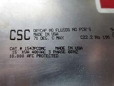 CALMOUNT 1543PCDMC CAPACITOR CELL - 480V 60 Hz 3-PHASE 15 kva - from KIM43030-3