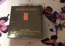Elizabeth Arden Pure Finish Mineral Powder Foundation SPF 20 -11-Dark - New