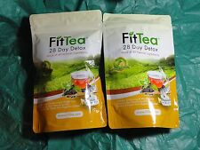 Fit Tea 28 day Detox 2 seperate FitTea bags new sealed total 56 teabags fast shp