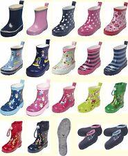 Playshoes Stiefel Mädchen Jungen Kinder Baby Gummistiefel Schuhe Gr. 18 - 25
