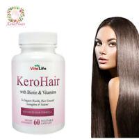 KEROHAIR  Hair Growth Supplement - Kerotin Formula - Natural Vitamins & Biotin!
