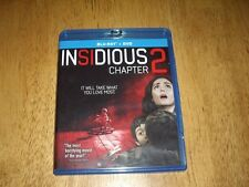 EEUC Insidious Chapter 2  Blu-ray and DVD Movie 2 disc