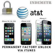 AT&T FACTORY UNLOCK CODE SERVICE IPHONE 3 4 4S 5 5S 5C SE 6 6S +