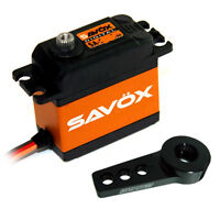 Savox SA-1230SG Monster Torque Coreless Digital Servo W/FREE ALUMINUM HORN BK