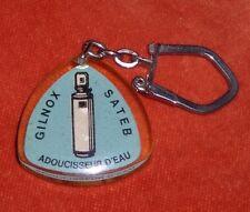 Porte-clé Bourbon GILNOX SATEB Adoucisseur eau MIKROPHOS rue GREFFULHE Paris 8°