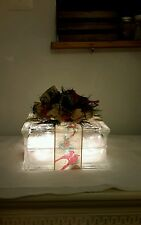 Glass Block from Ppg, 8x8 glass craft, Lighted Holiday Present (homemade)
