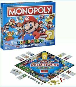 Monopoly Super Mario Celebration Edition w/ Sound Effects New