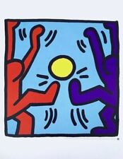 Football, Offset Lithograph, Keith Haring