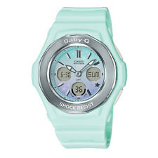 Casio Baby-g Pastel Green Starry Sky Series Analogue/digital Girls Watch Bga100s