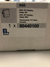 2 X BERKER KNX RTR TFT Display