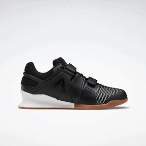 NEW Reebok Legacy Lifter Flexweave FU7872 Weightlifting Men's Shoe Sneaker Black