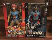 "Mezco Thundercats Mega Scale Lion-O and Mumm-Ra 14"" Figures Set of 2"