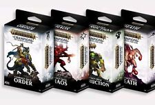 Warhammer TCG Age of Sigmar Champions Campaign Decks (All 4 Decks) IN STOCK