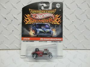 Hot Wheels Drag Strip Demons #22 Red Mike Zarnocks Altered Roadster