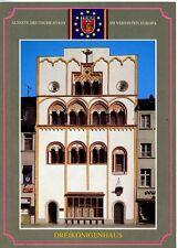 Postkarte Trier Fotokunst Schwalbe: 1/21 Dreikönigenhaus 1230 roman. Wohnturm