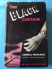 THE BLACK CURTAIN *FIRST EDITION BY CORNELL WOOLRICH*