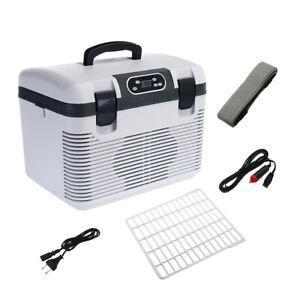 DC 12V/24V Portable 19L Fridge Cooler Warmer Car Home Travel Refrigerator