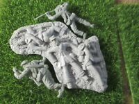 5*Replicants*& Barzso Matching Diorama Wounded Casualties Rebs 54mm Civil War