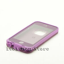 LifeProof fre Waterproof Water Dust Proof Case  for iPhone se 5s 5 (Purple) Used