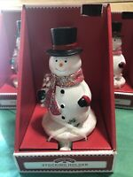 Holiday Time Snowman Christmas Stocking Holder Replacement Frosty Stocking Hook