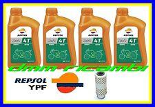 Kit Tagliando MOTO GUZZI V35 V50 V65 V75 350 400 650 Filtro Olio REPSOL 20W50