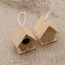 New listing 4Pcs Nests 7.7 X 5.6 X 6cm Bird Cages Bird House Box Durable High Quality