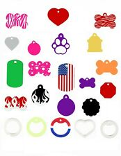 Custom | Engraved | Personalized Dog | Cat | Pet Id Tags Made In The Usa!