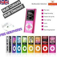 "Portable Mini MP3 MP4 Player Supports 32GB 1.8"" LCD Music Video Media FM Radio"