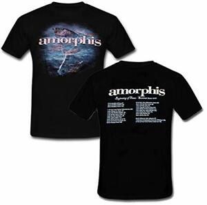 AMORPHIS - Beginning of Times 2011 Summer Tour Shirt NEU! Rar!