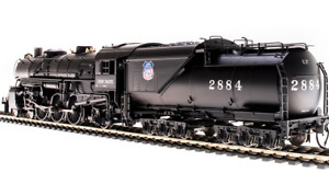 BLI 5924 UNION PACIFIC 4-6-2 Light Pacific Locomotive w/DCC & Sound # 2893 NIB