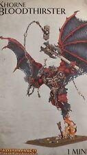 Warhammer 40K & Age Of Sigmar, WRATH OF KHORNE  BLOODTHIRSTER  Greater Daemon