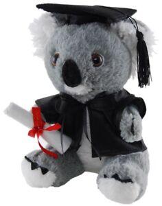 "Graduation Koala Stuffed animal plush toy 7""/18cm Elka"