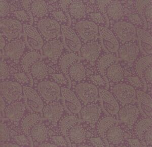 ZOFFANY WEAVE  CURTAIN FABRIC PAISLEY 1.8 METRES  DK7875 RRP £83pm