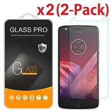 2-Pack Premium Tempered Glass Screen Protector For Motorola Moto Z2 Play